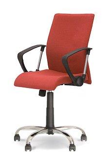 Стул офисный Тайм черный (Time black) - это комфортабельная недорогая офисная мебель по невысокой